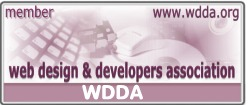 Member of the Web Design and Developers Association